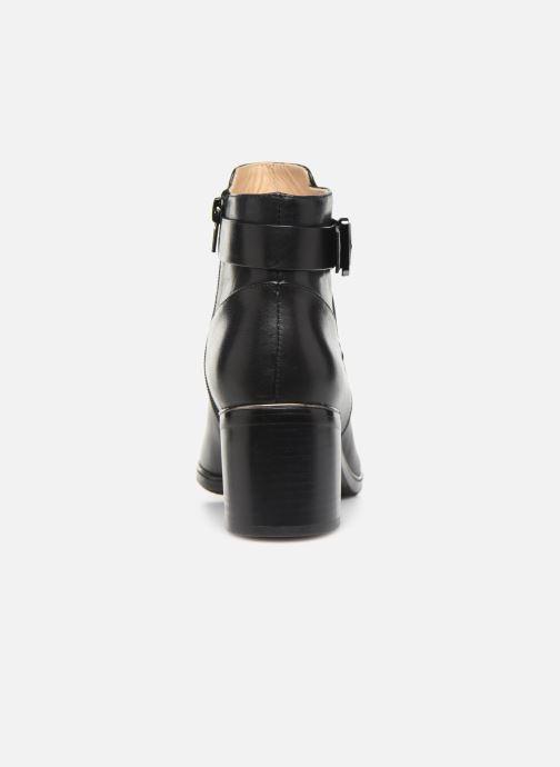 Bottines et boots JB MARTIN BLASCO Noir vue droite