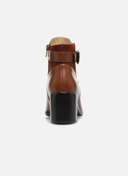 Bottines et boots JB MARTIN BLASCO Marron vue droite