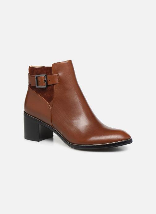 Bottines et boots JB MARTIN BLASCO Marron vue détail/paire