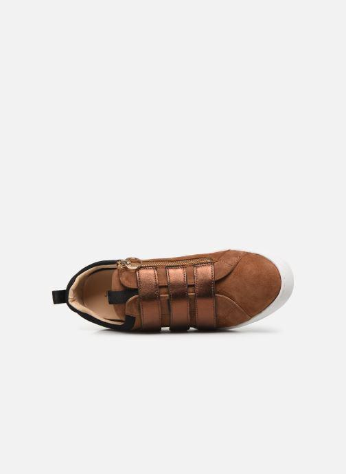 Sneaker JB MARTIN GERADO braun ansicht von links