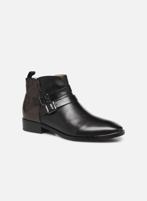 Bottines et boots JB MARTIN ROVANI Noir vue détail/paire