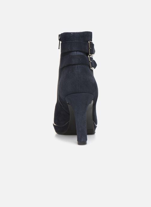 Bottines et boots JB MARTIN WALY Bleu vue droite