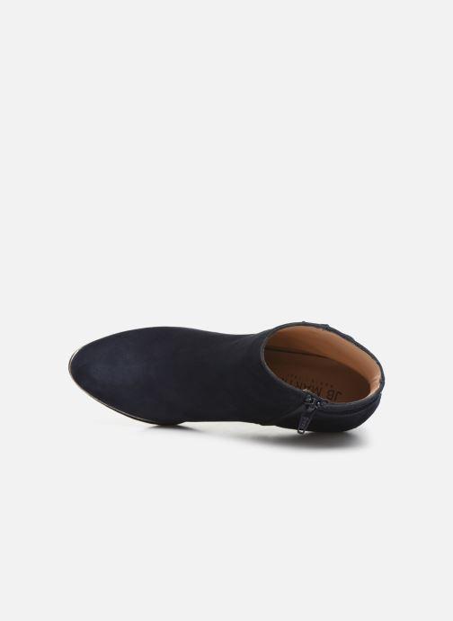 Bottines et boots JB MARTIN WALY Bleu vue gauche