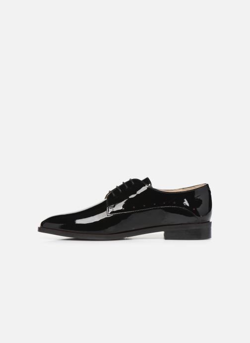 Lace-up shoes JB MARTIN FABEL Black front view