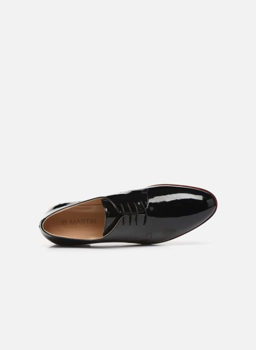 Lace-up shoes JB MARTIN FABEL Black view from the left