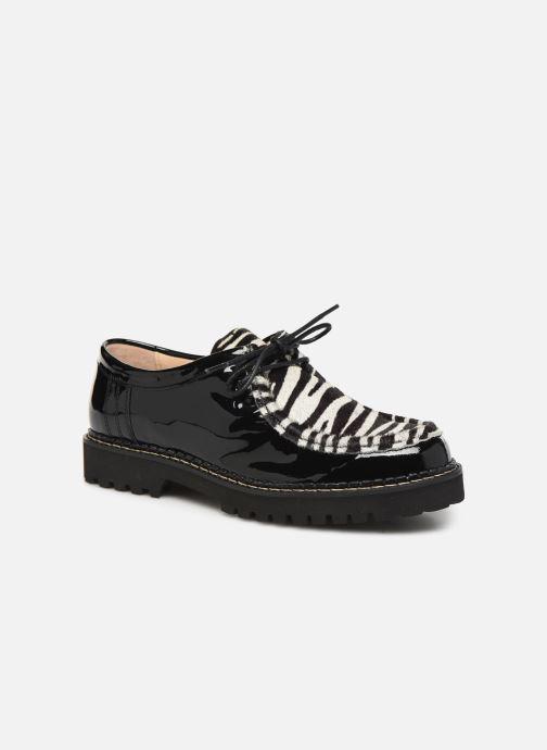Snøresko JB MARTIN MACHA Sort detaljeret billede af skoene