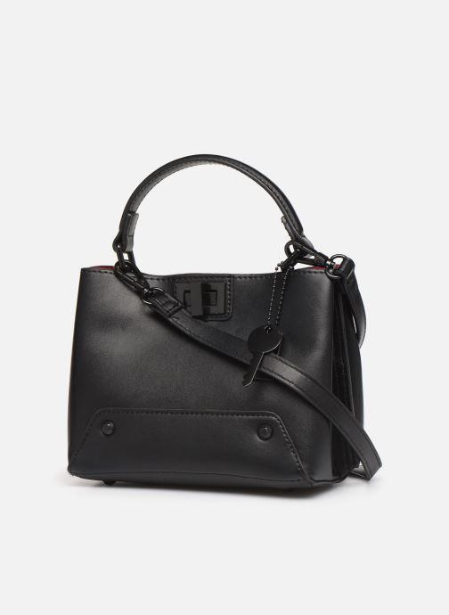 Handtaschen Aldo MEAWET schwarz ansicht von rechts