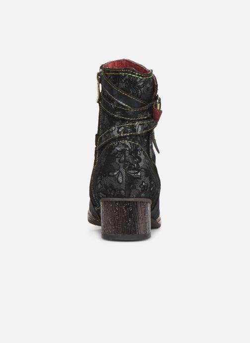 Bottines et boots Laura Vita GACGAO 05 Bleu vue droite