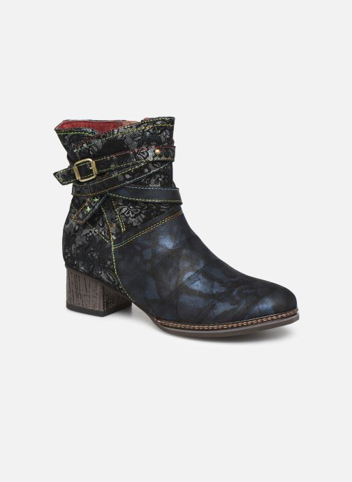 Bottines et boots Laura Vita GACGAO 05 Bleu vue détail/paire