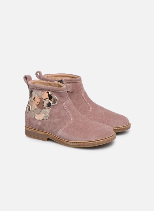 Boots en enkellaarsjes Pom d Api Retro Bubble Roze 3/4'