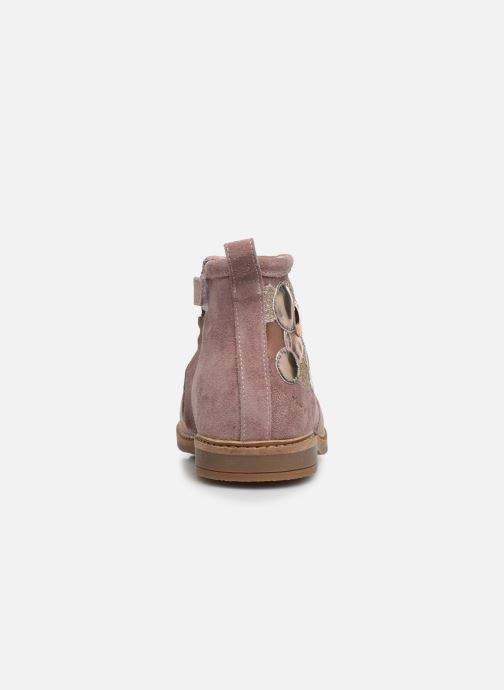 Boots en enkellaarsjes Pom d Api Retro Bubble Roze rechts