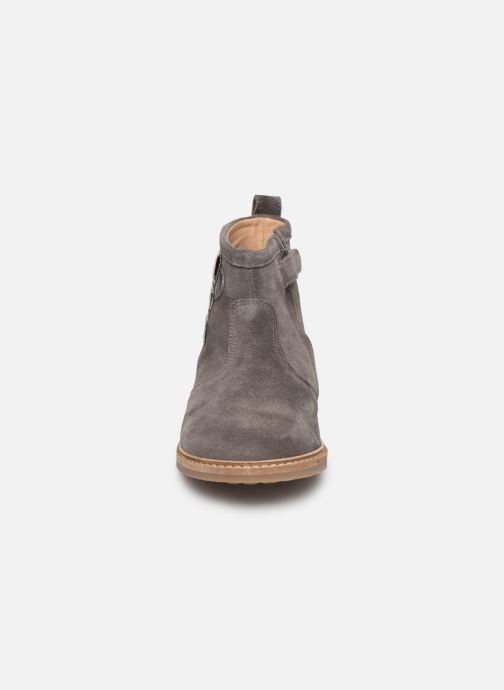 Bottines et boots Pom d Api Retro Bubble Gris vue portées chaussures