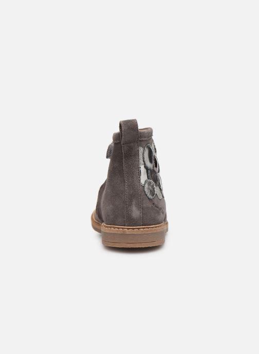 Boots en enkellaarsjes Pom d Api Retro Bubble Grijs rechts