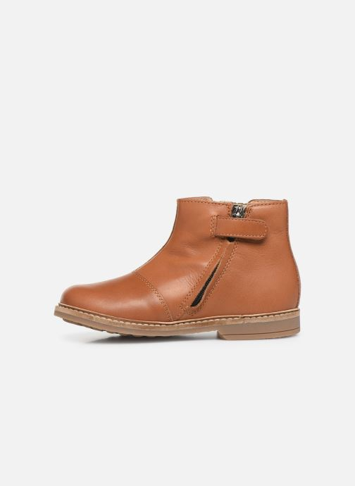 Boots en enkellaarsjes Pom d Api Retro kipik Bruin voorkant