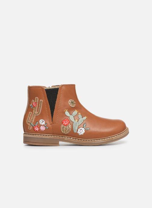 Boots en enkellaarsjes Pom d Api Retro kipik Bruin achterkant