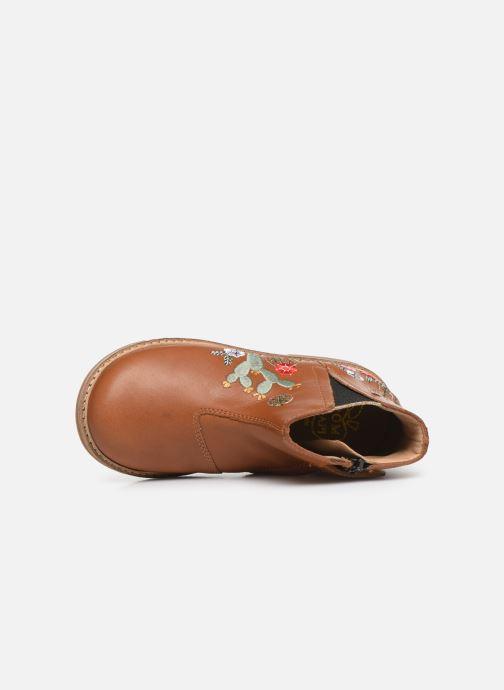 Boots en enkellaarsjes Pom d Api Retro kipik Bruin links