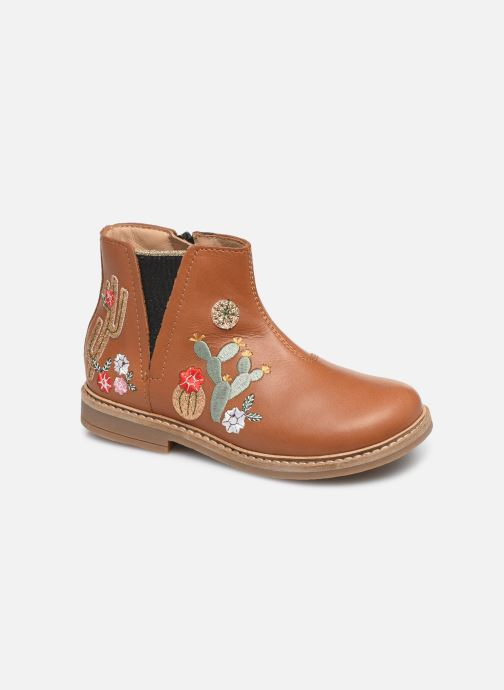 Boots en enkellaarsjes Pom d Api Retro kipik Bruin detail
