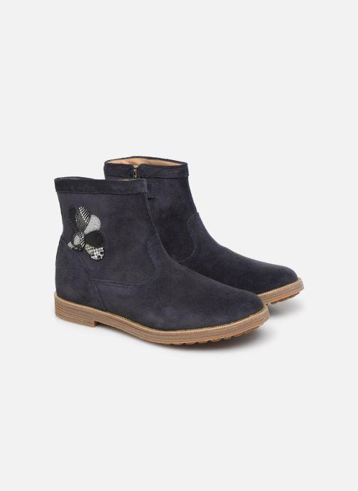 Bottines et boots Pom d Api Trip rolls cebo Bleu vue 3/4
