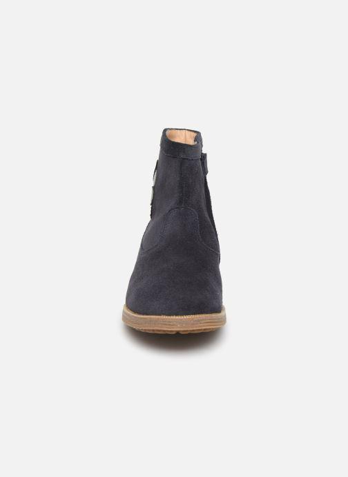 Bottines et boots Pom d Api Trip rolls cebo Bleu vue portées chaussures