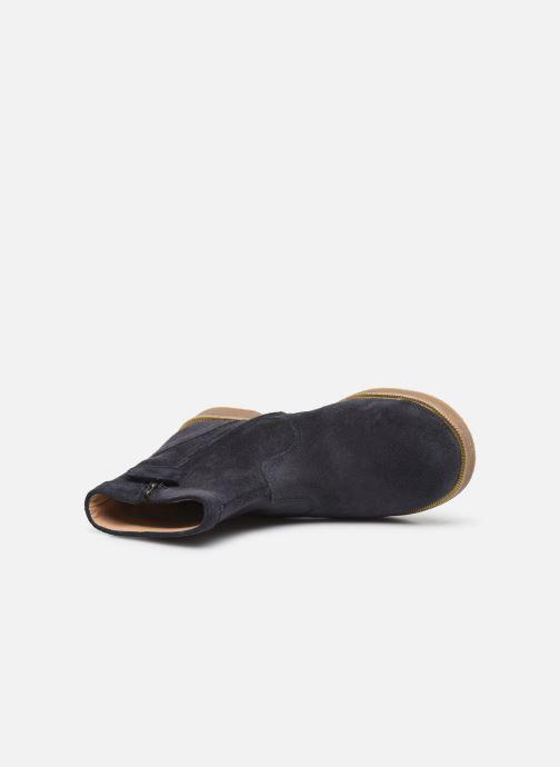 Bottines et boots Pom d Api Trip rolls cebo Bleu vue gauche