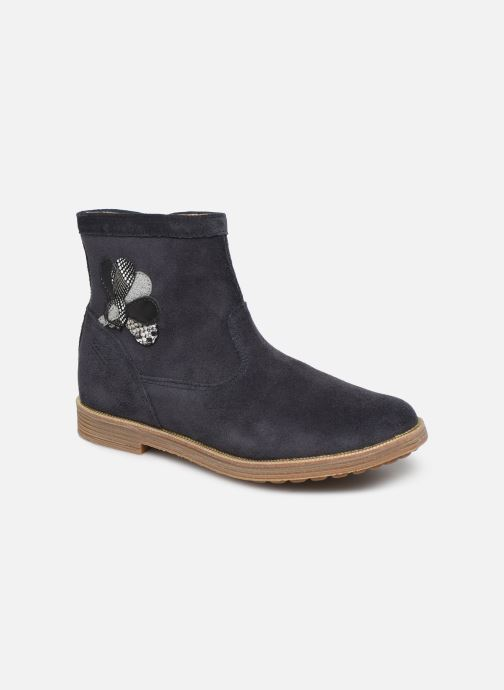 Bottines et boots Pom d Api Trip rolls cebo Bleu vue détail/paire