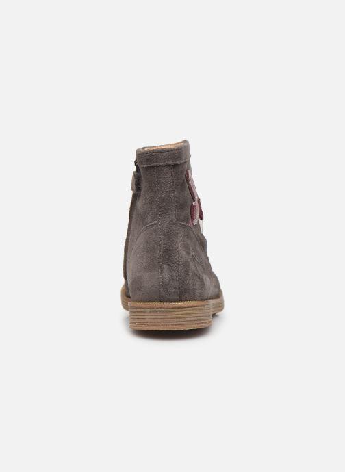 Boots en enkellaarsjes Pom d Api Trip rolls cebo Grijs rechts