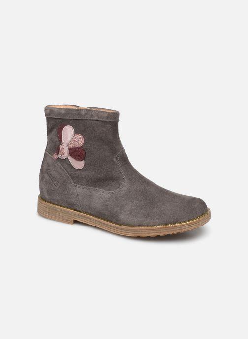 Bottines et boots Pom d Api Trip rolls cebo Gris vue détail/paire