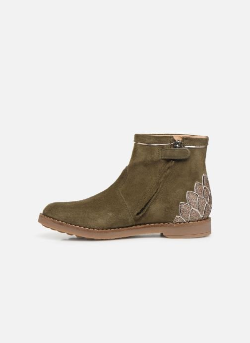 Ankle boots Pom d Api Trip scale Green front view