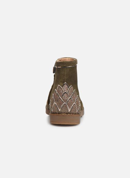 Bottines et boots Pom d Api Trip scale Vert vue droite
