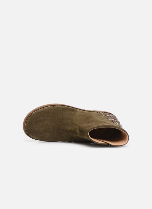Bottines et boots Pom d Api Trip scale Vert vue gauche