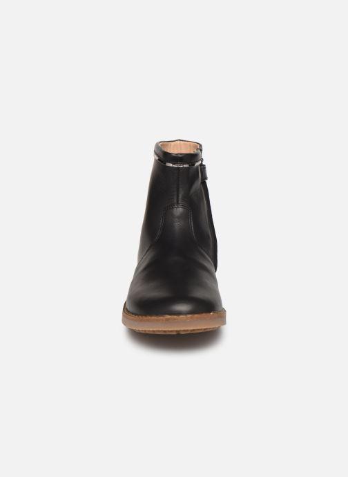 Ankle boots Pom d Api Trip scale Black model view