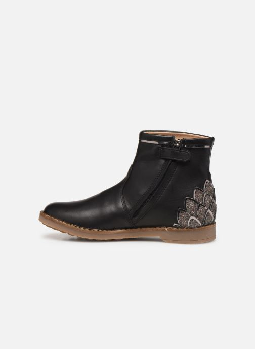 Ankle boots Pom d Api Trip scale Black front view