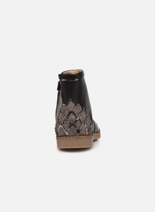 Ankle boots Pom d Api Trip scale Black view from the right