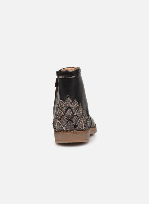 Bottines et boots Pom d Api Trip scale Noir vue droite