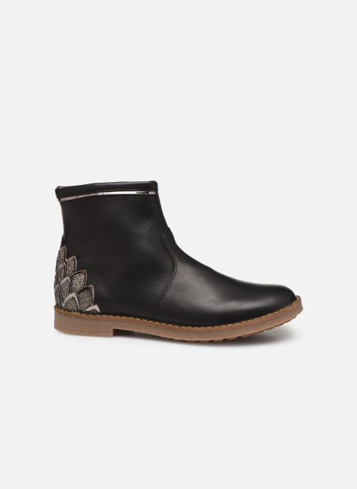 Ankle boots Pom d Api Trip scale Black back view
