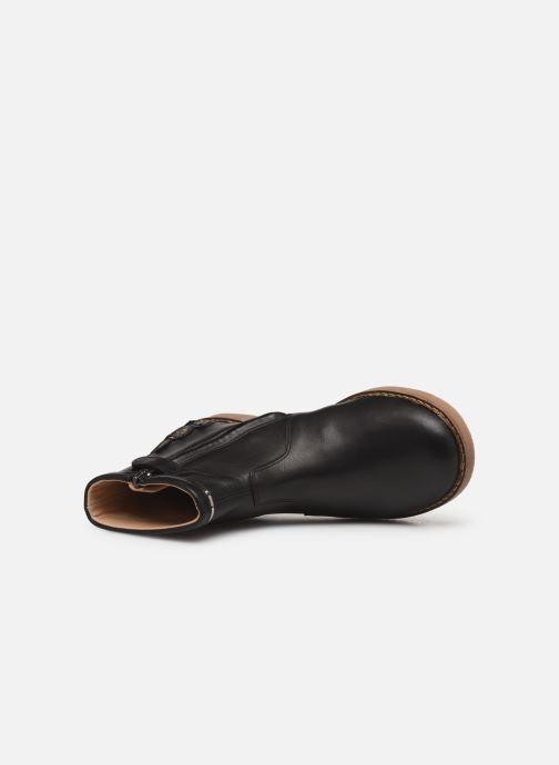 Bottines et boots Pom d Api Trip scale Noir vue gauche