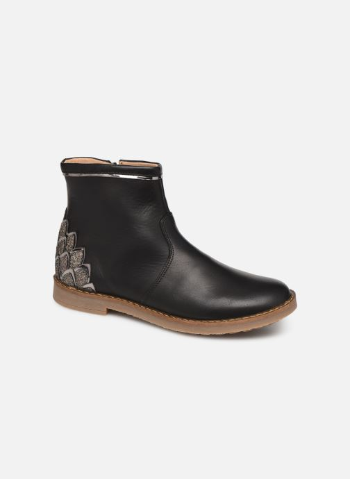 Ankle boots Pom d Api Trip scale Black detailed view/ Pair view