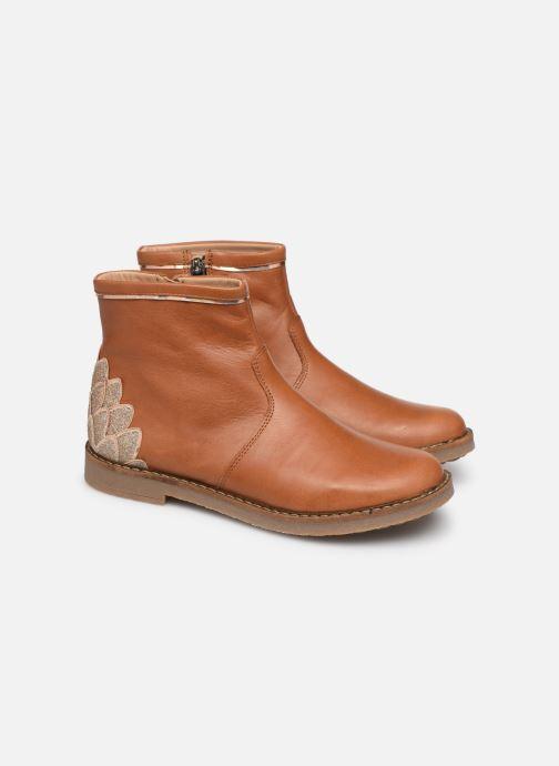Boots en enkellaarsjes Pom d Api Trip scale Bruin 3/4'