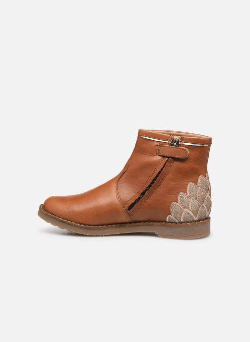 Boots en enkellaarsjes Pom d Api Trip scale Bruin voorkant