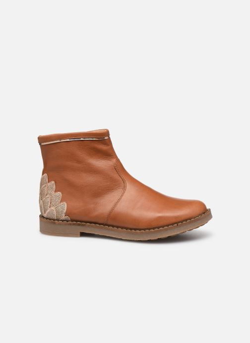 Boots en enkellaarsjes Pom d Api Trip scale Bruin achterkant