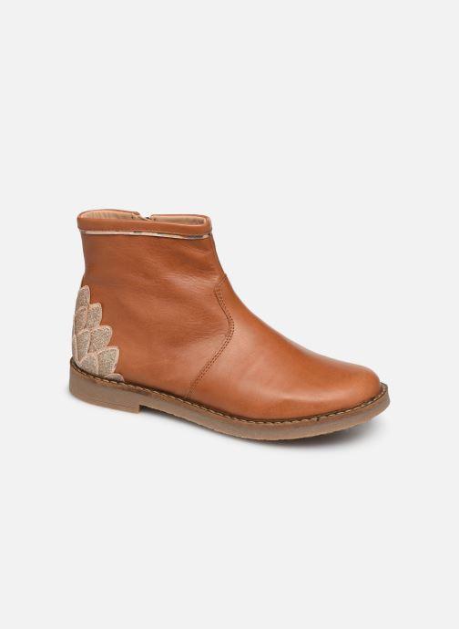 Boots en enkellaarsjes Pom d Api Trip scale Bruin detail