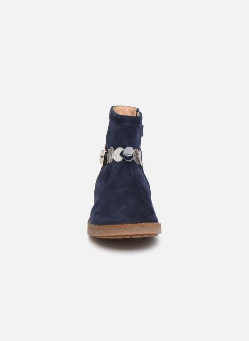 Bottines et boots Pom d Api Trip heart Bleu vue portées chaussures