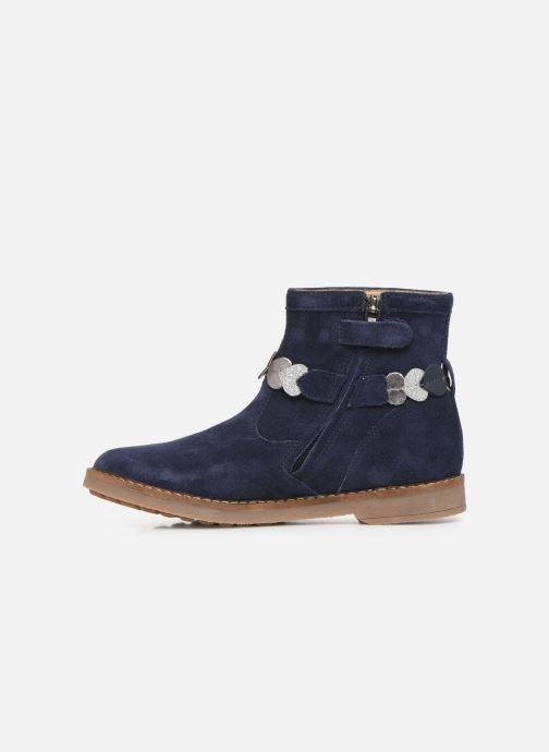 Bottines et boots Pom d Api Trip heart Bleu vue face