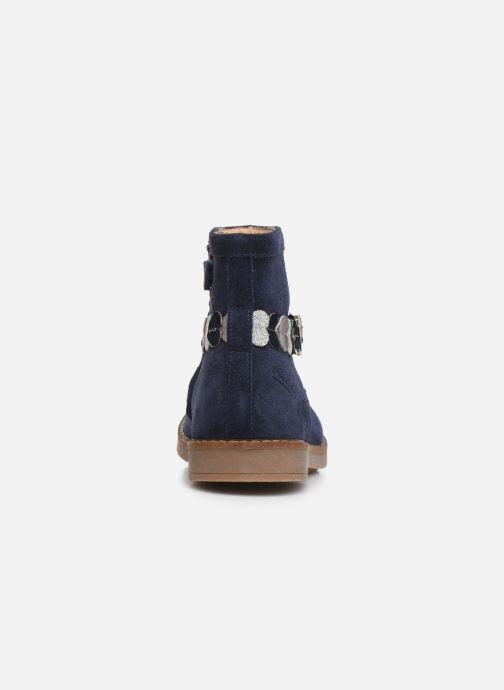 Bottines et boots Pom d Api Trip heart Bleu vue droite
