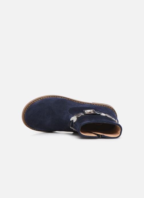 Bottines et boots Pom d Api Trip heart Bleu vue gauche