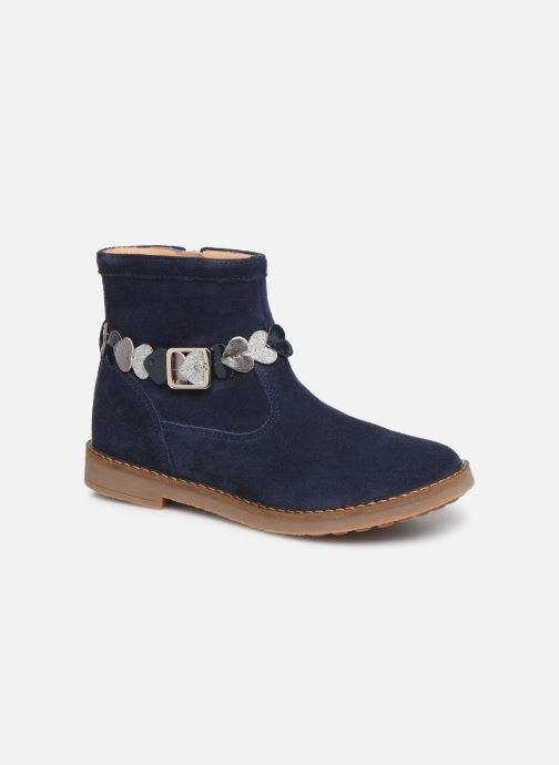 Boots en enkellaarsjes Pom d Api Trip heart Blauw detail