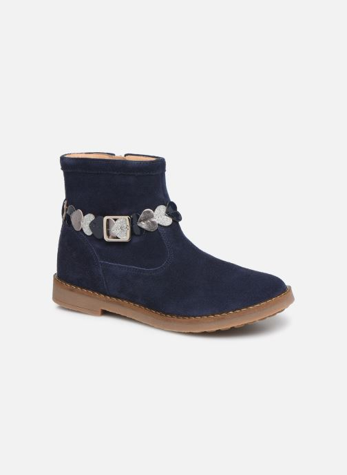Bottines et boots Pom d Api Trip heart Bleu vue détail/paire