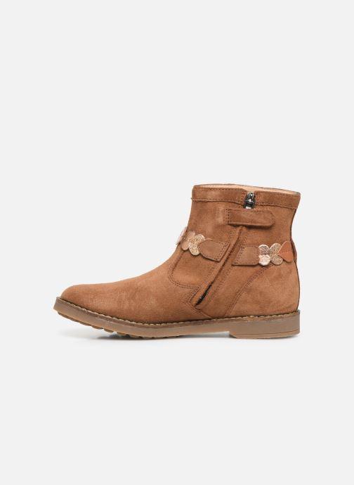 Boots en enkellaarsjes Pom d Api Trip heart Bruin voorkant