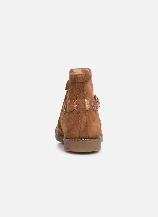Bottines et boots Pom d Api Trip heart Marron vue droite