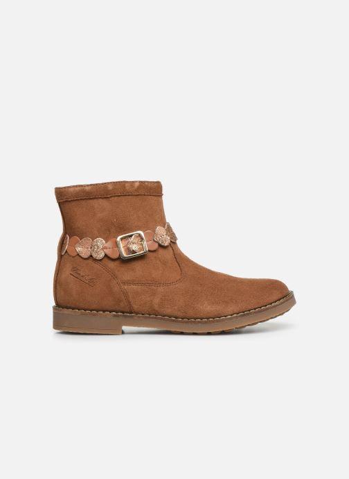 Boots en enkellaarsjes Pom d Api Trip heart Bruin achterkant